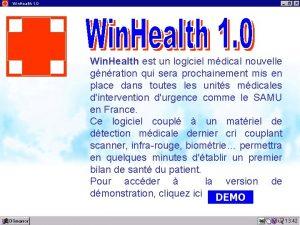 Win Health 1 0 Win Health est un