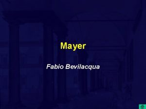 Mayer Fabio Bevilacqua Julius Robert Mayer 1814 1878