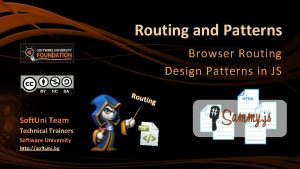 Routing and Patterns Browser Routing Design Patterns in