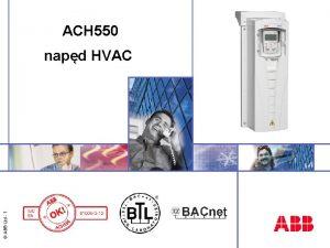 ACH 550 ABB Ltd 1 napd HVAC ACH
