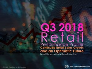 Retails Good Year Accelerates Into the Third Quarter