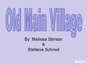 By Melissa Stinson Stefanie Schmid The roots of