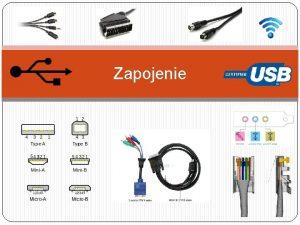Zapojenie USB n kadodenn Kok mme USB Vieme