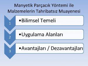 Manyetik Parack Yntemi ile Malzemelerin Tahribatsz Muayenesi 1