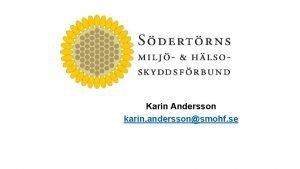 Karin Andersson karin anderssonsmohf se Vilka r vi