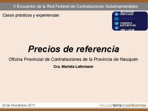 V Encuentro de la Red Federal de Contrataciones