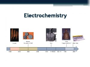Electrochemistry Redox Reactions Day 1 Section 9 1