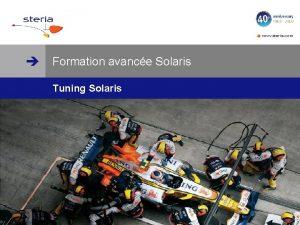 www steria com Formation avance Solaris Tuning Solaris