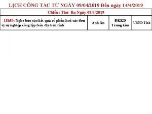 LCH CNG TC T NGY 09042019 n ngy
