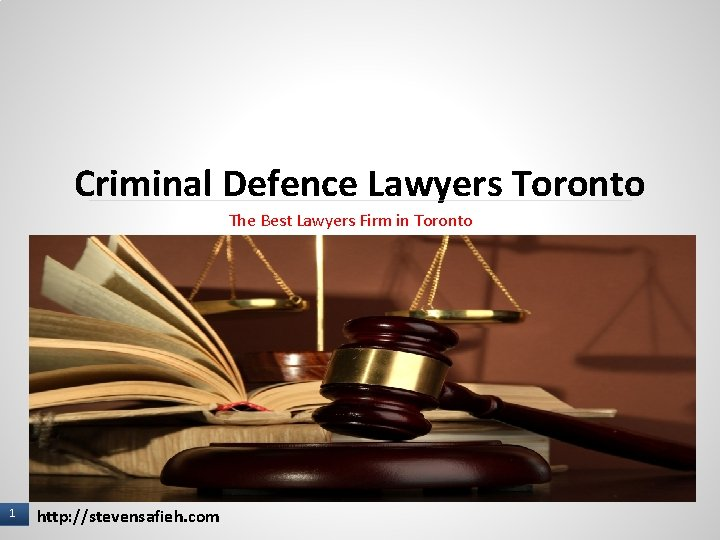 Criminal Defence Lawyers Toronto The Best Lawyers Firm