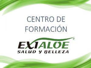 CENTRO DE FORMACIN OFRECER EL NEGCIO EN 10