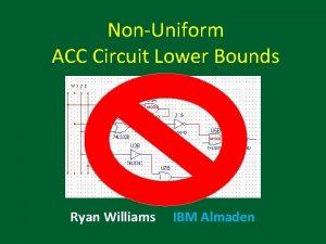 NonUniform ACC Circuit Lower Bounds MOD 6 Ryan