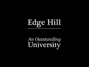 edgehill ac ukls Electronic Assessment Management Using the