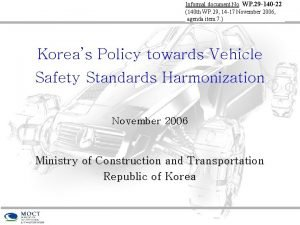 Informal document No WP 29 140 22 140