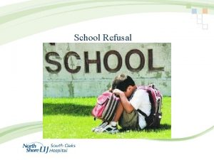 School Refusal Labels for children who have trouble
