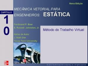 Nona Edio MEC NICA VETORIAL PARA CAPTULO 1