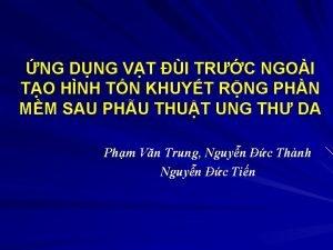 NG DNG VT I TRC NGOI TO HNH