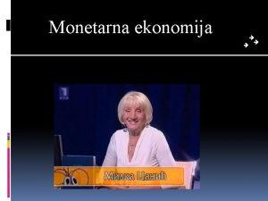Monetarna ekonomija Kviz opteg znanja Pravila kviza Podelite