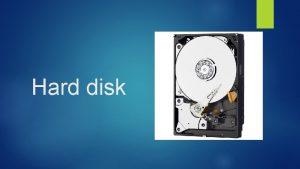 Hard disk Pevn disk hard disk HD alebo