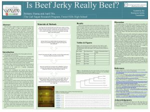 Is Beef Jerky Really Beef Brittany Huang and