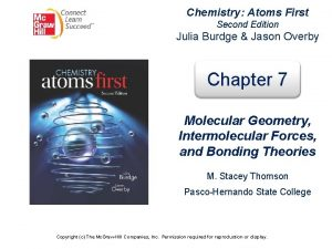 Chemistry Atoms First Second Edition Julia Burdge Jason