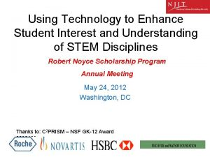 Using Technology to Enhance Student Interest and Understanding