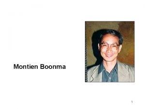 New Media Montien Boonma 1 Enduring Understanding Students