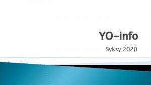 YOinfo Syksy 2020 Muutetut koepivt https www ylioppilastutkinto