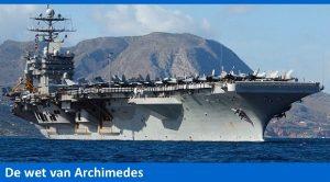 De wet van Archimedes De wet van Archimedes