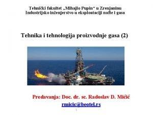 Tehniki fakultet Mihajlo Pupin u Zrenjaninu Industrijsko inenjerstvo