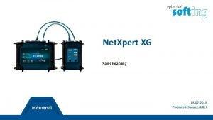 Net Xpert XG Sales Enabling 18 07 2019