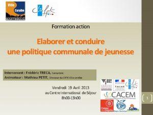 Formation action Elaborer et conduire une politique communale