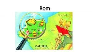 Rom Arbeitsauftrge zur Expansion Roms Lse mit Hilfe