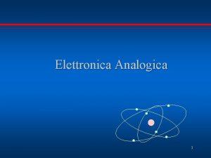 Elettronica Analogica 1 E Gandolfi Elettronica Analogica Materiali