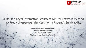 A DoubleLayer Interactive Recurrent Neural Network Method to