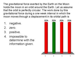 The gravitational force exerted by the Earth on