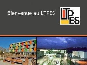 Bienvenue au LTPES Les tudes dducateurtrice Des tudes