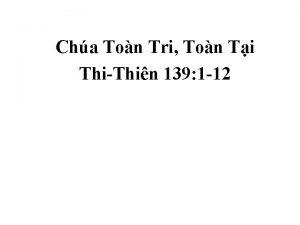 Cha Ton Tri Ton Ti ThiThin 139 1