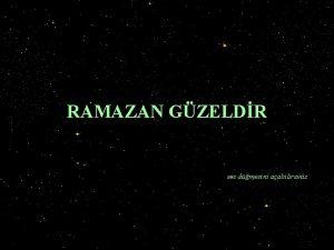 RAMAZAN GZELDR ses dmesini aabilirsiniz Ramazan gzeldir Dindar