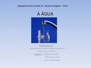 Agrupamento de Escolas Dr Garcia Domingues Silves A