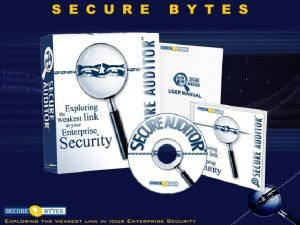 You need Secure Auditor if You are facing