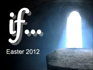 if Easter 2012 What is Easter About For