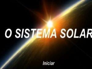 O SOL OS PLANETAS MERCRIO Prximo ao Sol