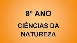 8 ANO CINCIAS DA NATUREZA INTRODUO ELETRICIDADE CAPTULO