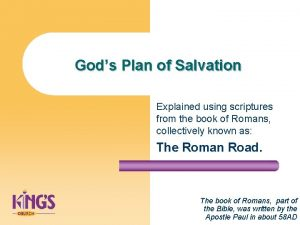 Gods Plan of Salvation Explained using scriptures from