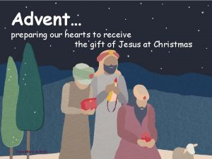 Advent preparing our hearts to receive the gift