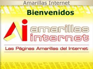 Amarillas Internet Bienvenidos Amarillas Internet Quines Somos Amarillas