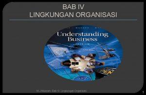 BAB IV LINGKUNGAN ORGANISASI M J Mukzam Bab