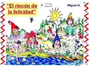 El rincn de la felicidad 117 seg Marisol