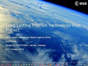 Long Lasting Piql Film Technology Pilot Project Mirko